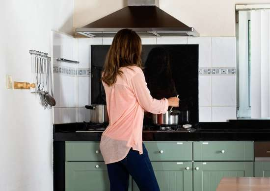 Turn on Your Exhaust Fan When Cooking