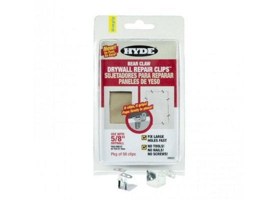 Hyde_5-8inch_bear_claw_drywall_repair_clips