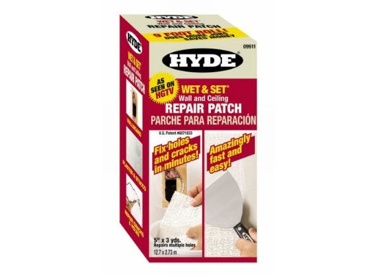 Hyde wet and set repair roll
