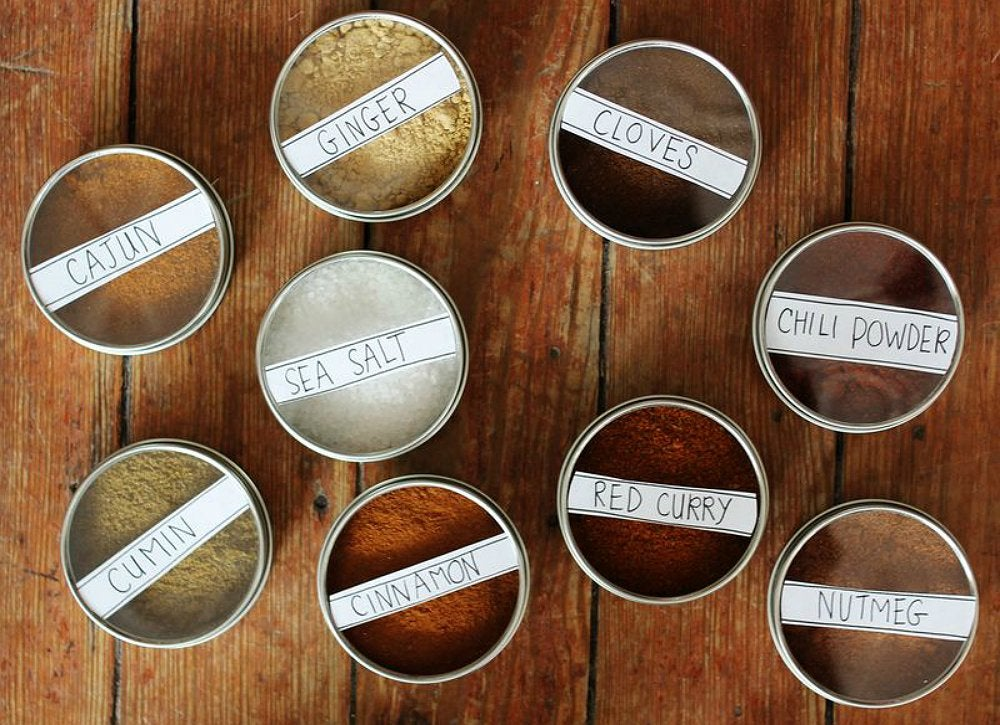 Diy-magnetic-spice-storage