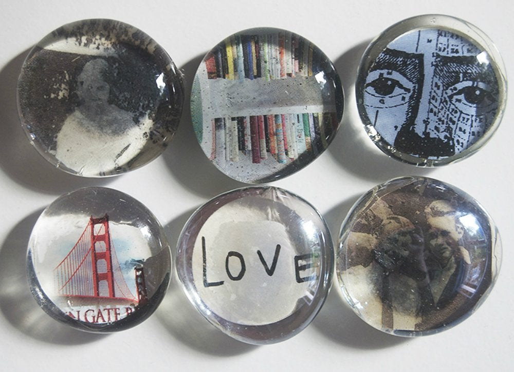 Diy personalized fridge magnets