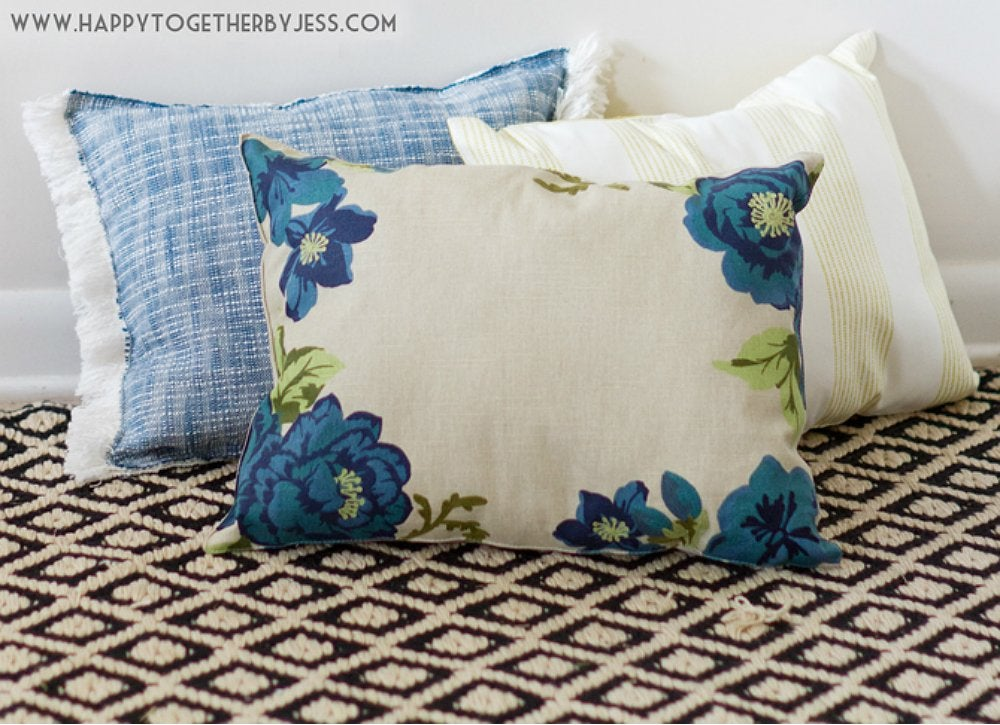Diy no sew placemat pillows