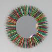 Colorful Clothespin Mirror