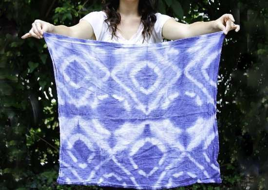 Diy dyed hand towels