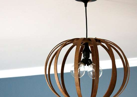 Diy ceiling light fixture