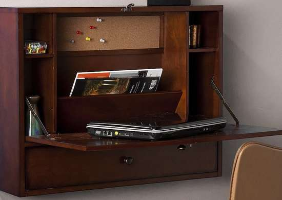 Fold-away-desk