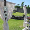 Create Outdoor Shade with Curtains