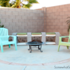 Make a Cinderblock Bench
