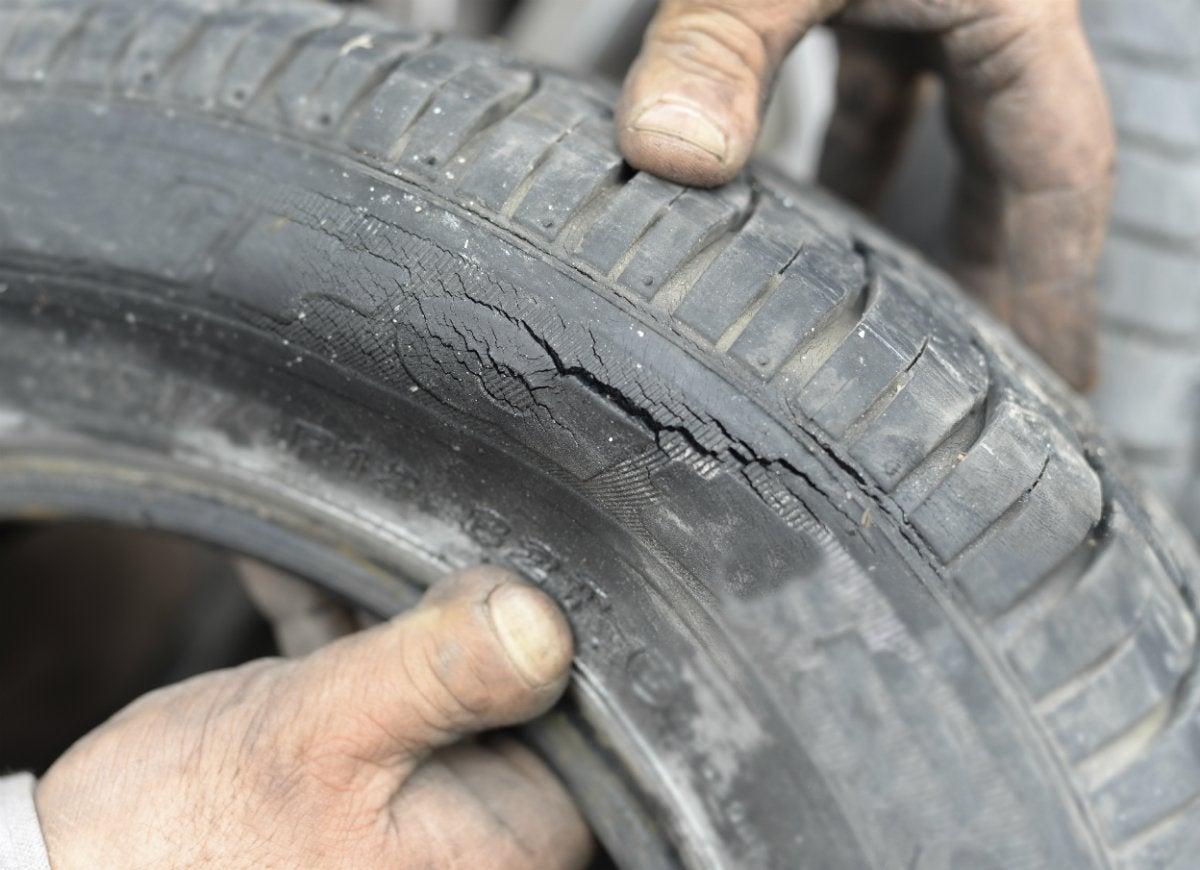 Worn-bike-or-car-tires
