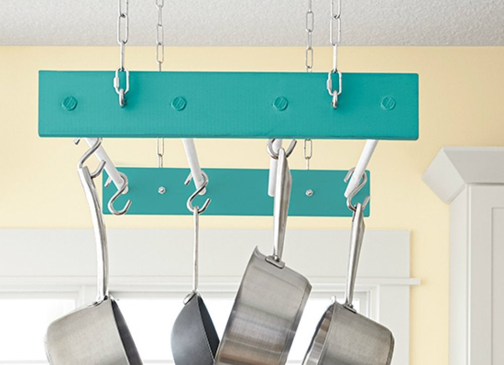 Diy-hanging-pot-rack