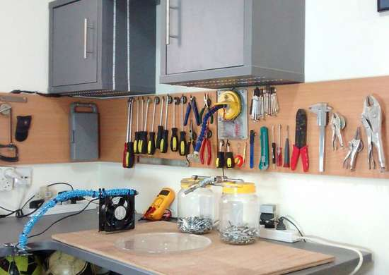 Make a Magnetic Tool Holder