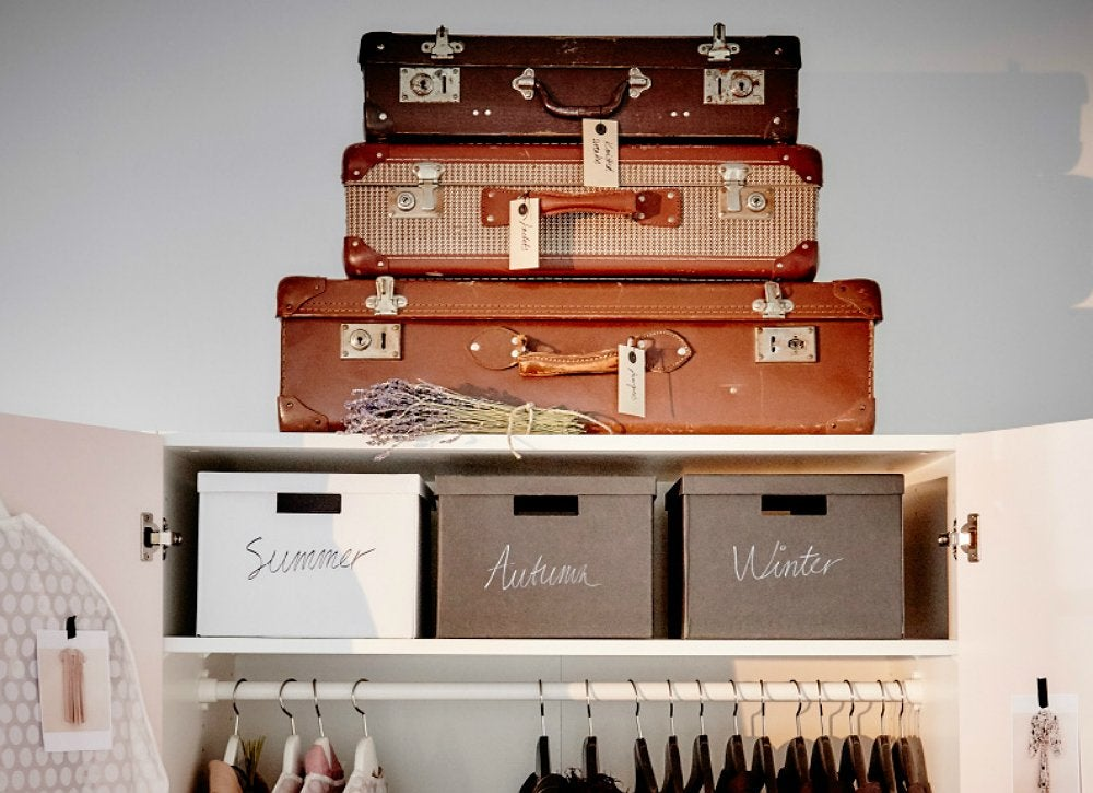 Use-suitcases-for-storage