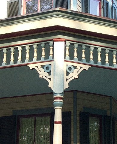 The Queen Anne Porch Bob Vila