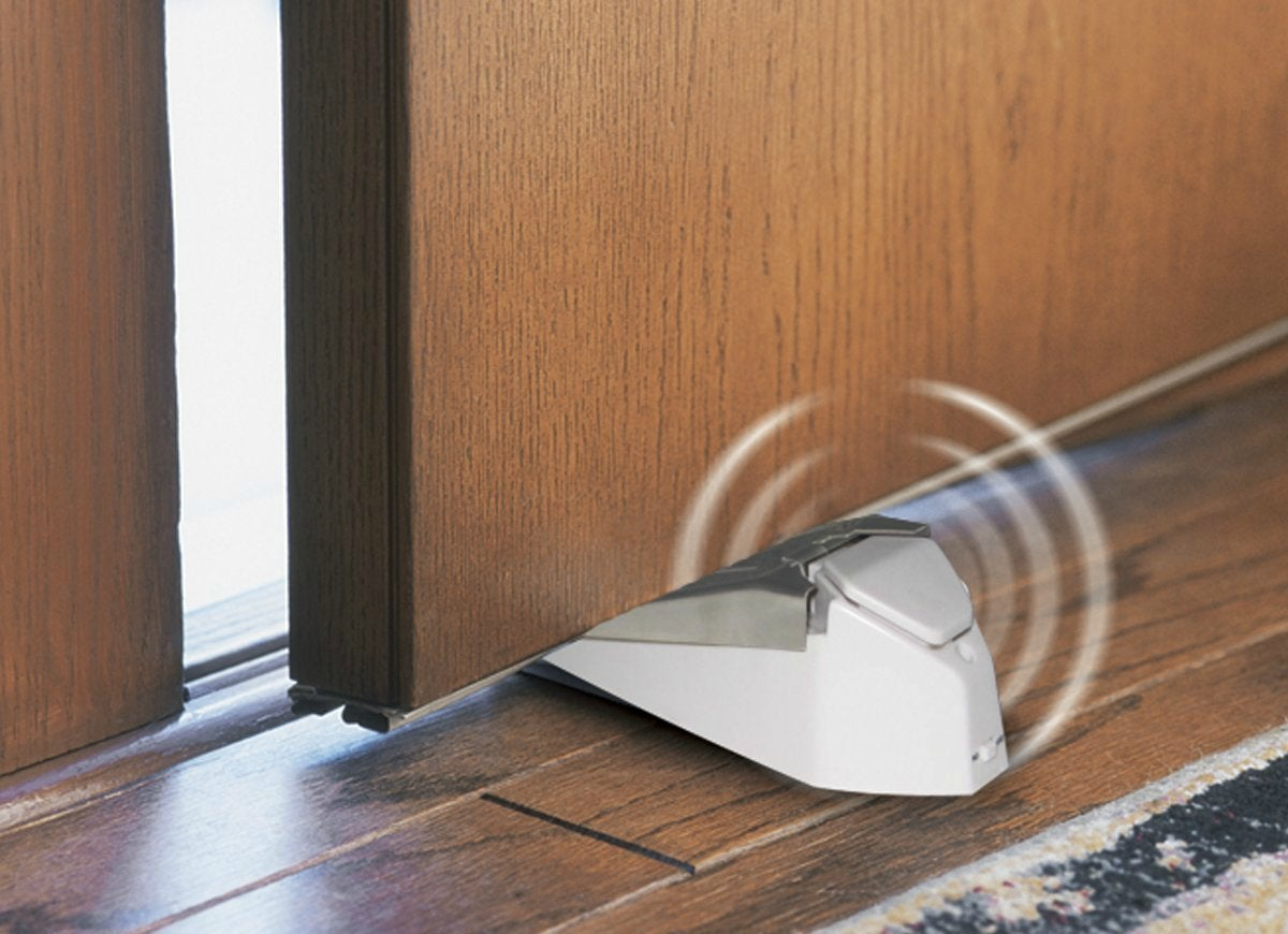 Ge door stop security alarm