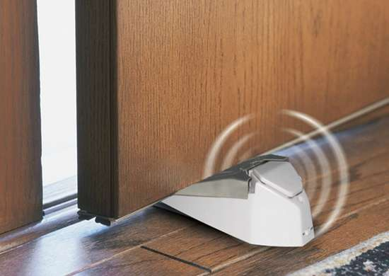 Ge door stop security alarm