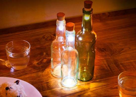 Wine Bottle LED Light