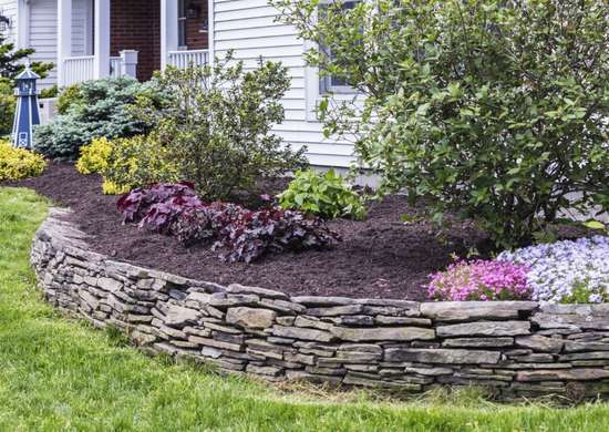 Use topsoil to keep house foundation level