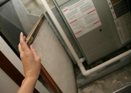 Replace furnace filter