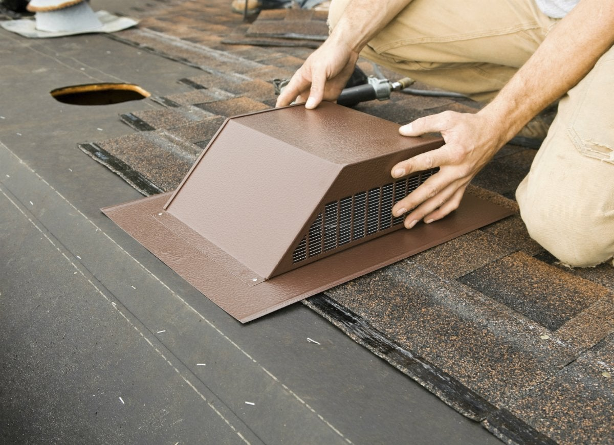 Add attic ventilation