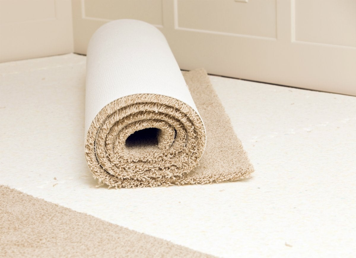 Removing carpet with trim puller