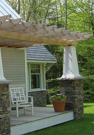 Chadsworth columns tapered bungalow style
