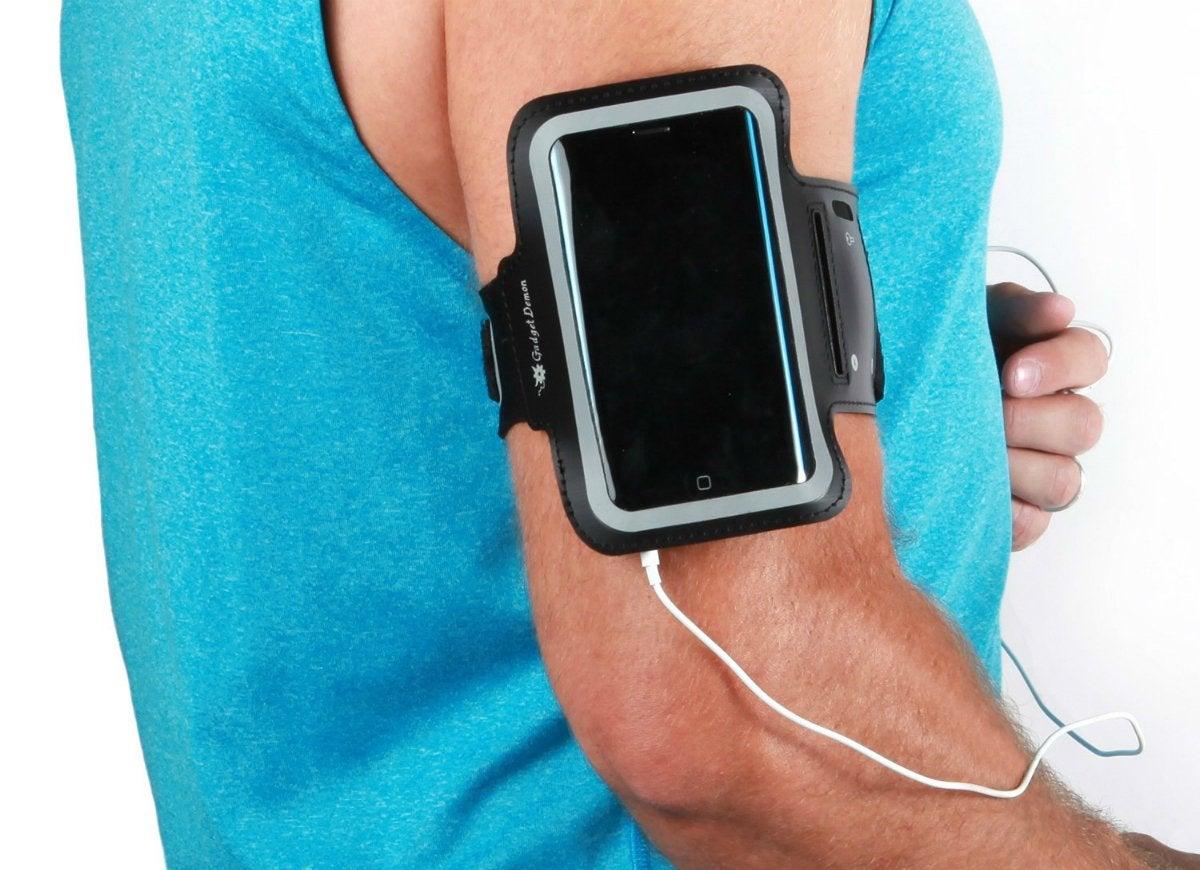Sport smartphone armband