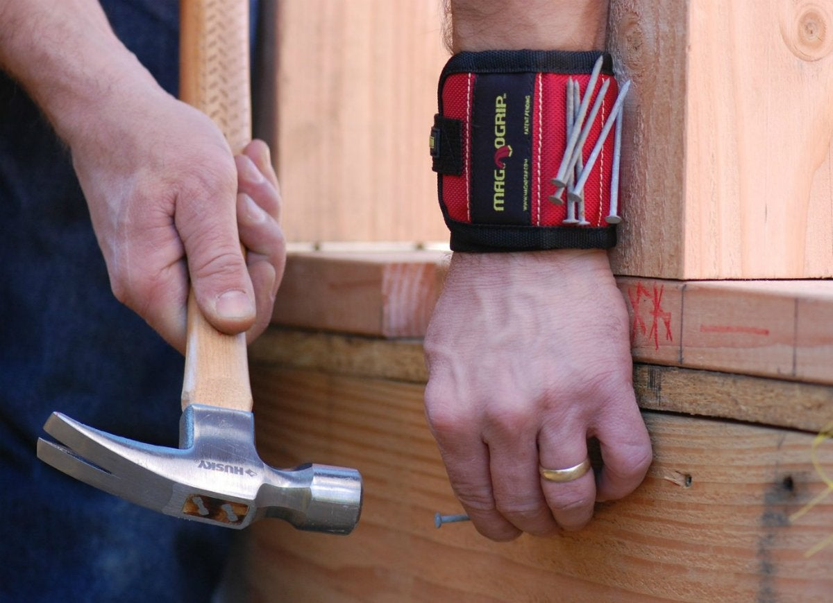 Magnogrip magnetic wristband hardware