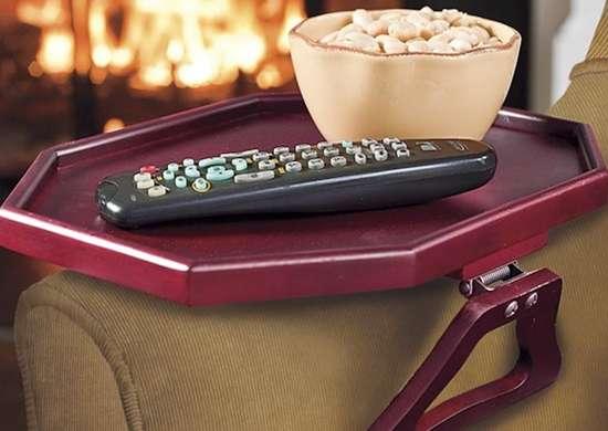 Arm chair tray