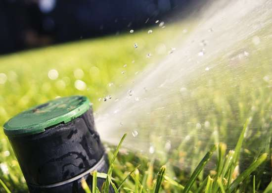 Smart water sprinkler