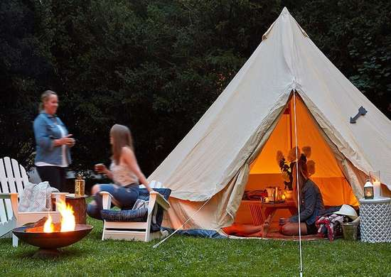 Backyard Tent