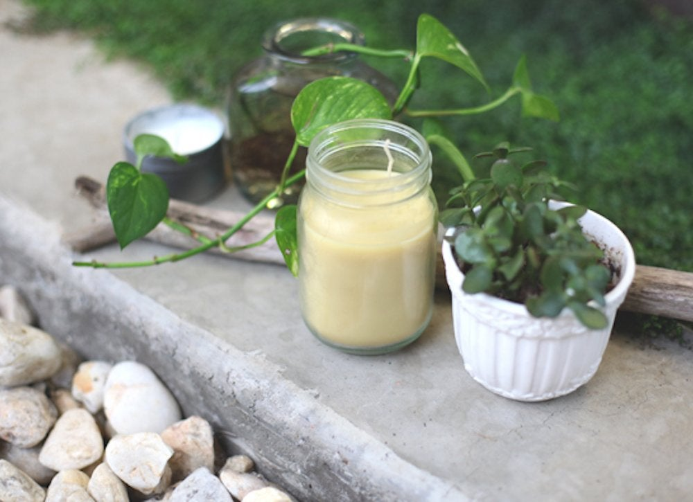 Diy citronella candles 7