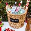 Woven Drinks Basket