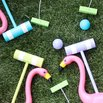 DIY Croquet Set