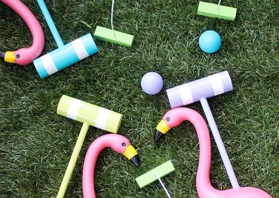 DIY Croquet Set