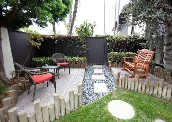 Split Up Your Outdoor Space