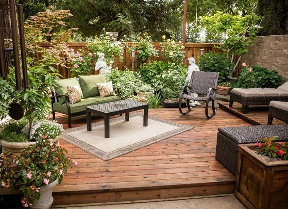 12 Great Ideas For A Modest Backyard: 12 Clever Ways To Design Yours