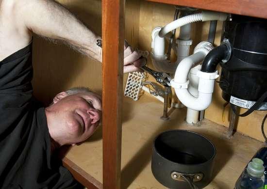 Replace under sink faucet hose
