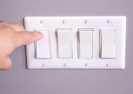 Replace damaged switchplate