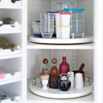 DIY Lazy Susan Cabinet Storage