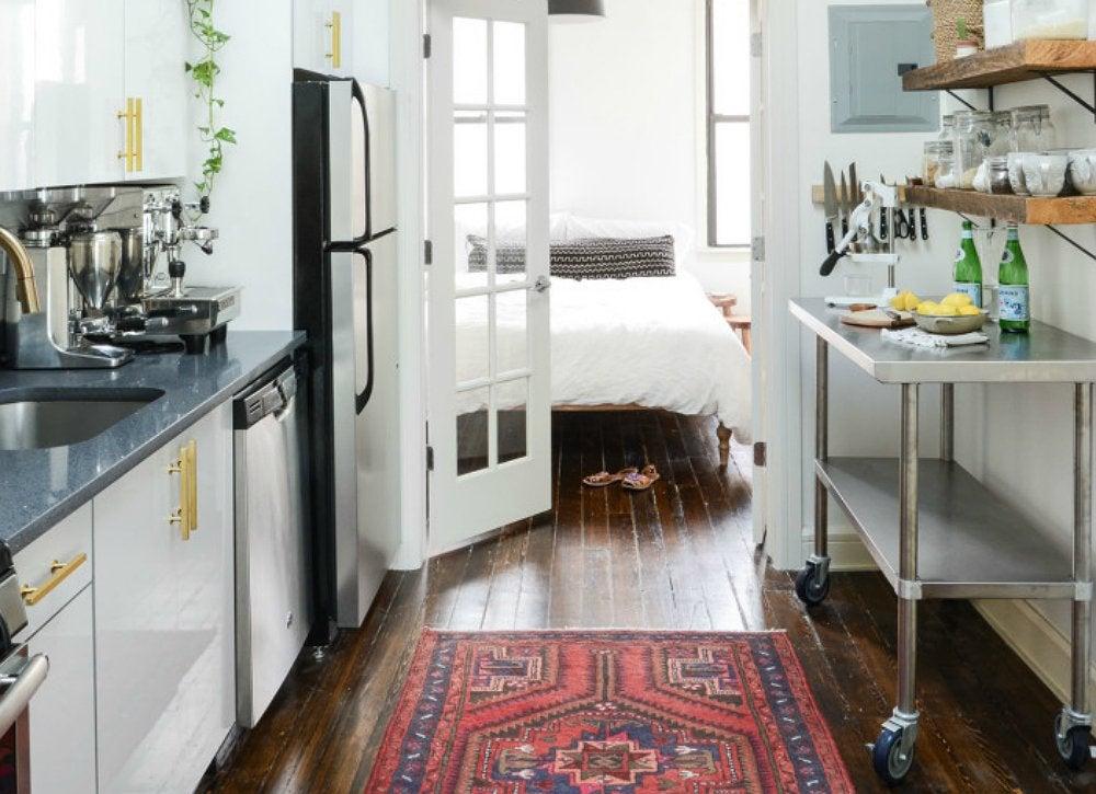 Kitchen storage on wheels
