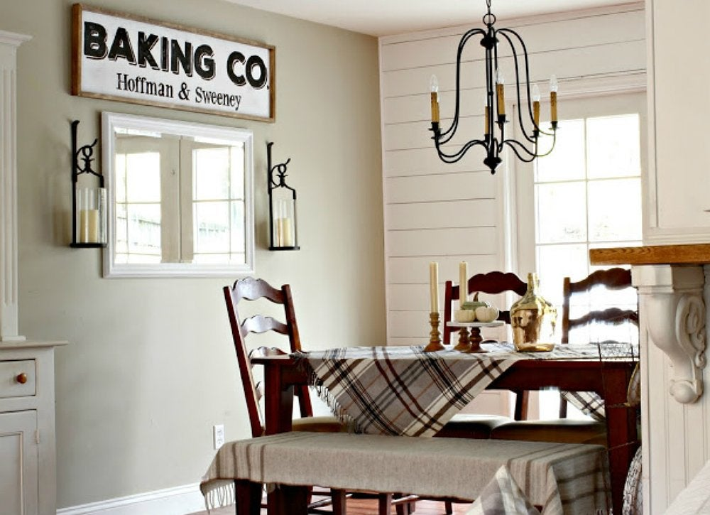 DIY Shiplap Style Accent Wall Home Improvement Ideas 14