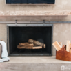 DIY Concrete Makeover for a Dated Fireplace