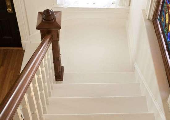 Simple Painted Stairway