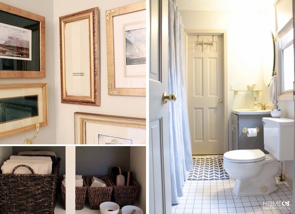 Jack and jill bathroom makeover home improvement ideas for Jack and jill bathroom with hall access