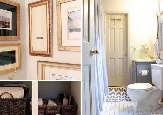 Jack and Jill Bathroom Makeover