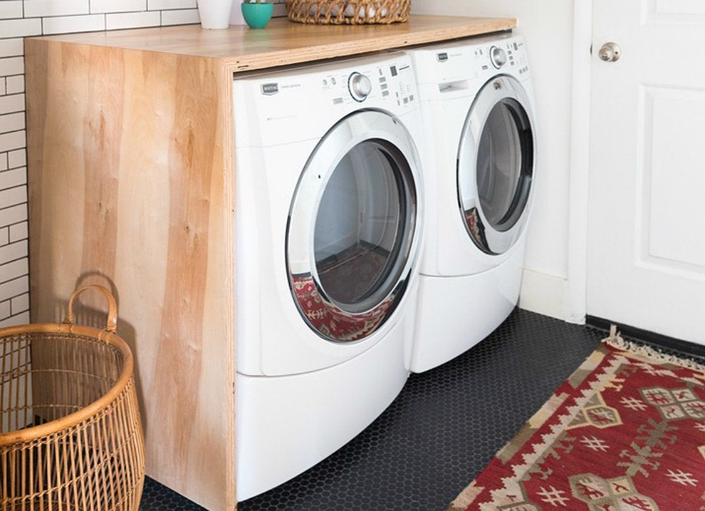 Countertop Options For Laundry Room : DIY Laundry Room Countertop - Home Improvement Ideas: 14 Like-Luxury ...