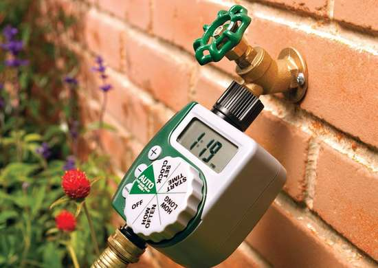 Schedule Watering with a Timer
