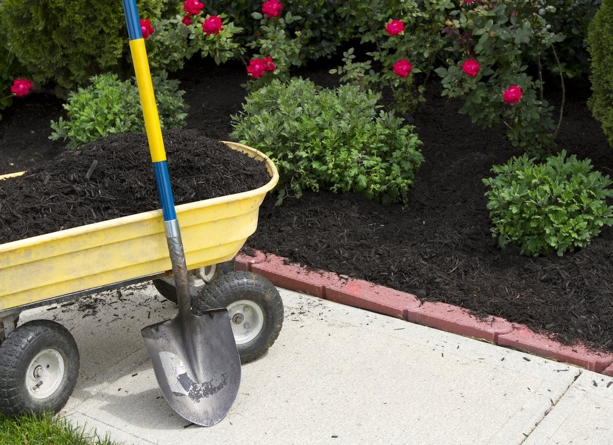 Low maintenance mulch
