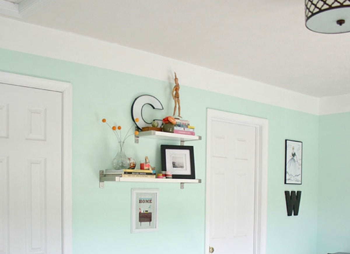 Diy painted molding