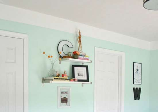 DIY Faux Crown Molding with Paint
